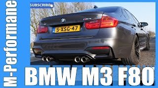 BMW M3 F80 M PERFORMANCE Exhaust PURE! Acceleration Sound
