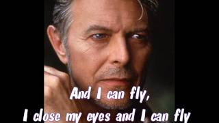 Watch David Bowie Fly video