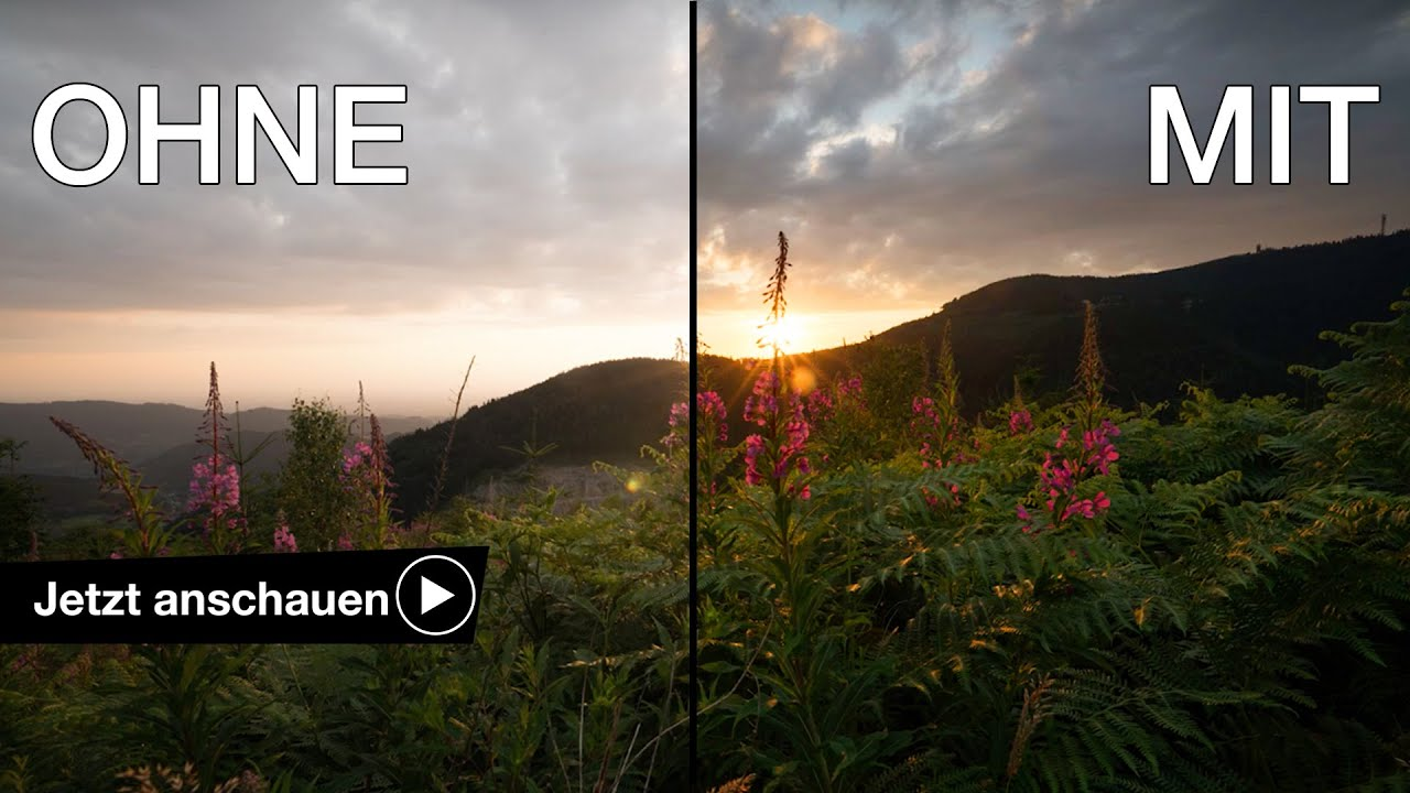 Verlaufsfilter Darauf Musst Du Achten Landschaftsfotografie Lee Filters 100x150 Graduated Nd 06 Soft Benjamin Jaworskyj Youtube