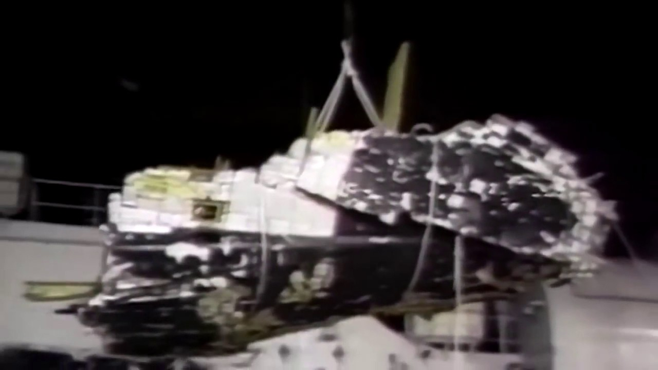 space shuttle challenger wreckage - photo #8