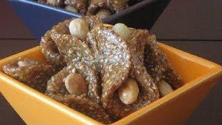 Repeat youtube video Recette de gâteaux orientale au sésame et miel