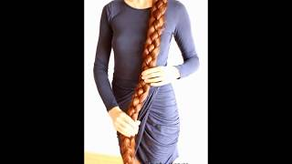 My very long hair/My super long braid/Real Life Rapunzel