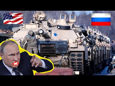 Tension High (3/7/2019): U.S. Military Build-up on Russia Border - US Military News Update Today