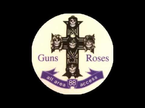 Guns N' Roses   It's So Easy Slash On Vocals VERY RARE LIVE At Celebrity Theatre '88