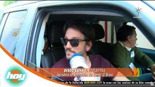 Diego Luna evita hablar del nuevo romance de Camila Sodi | Hoy