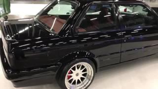 Walk around of my bmw e30 Chevy v8 twin turbo @ 100% tuning 2016 Rotterdam holland !!