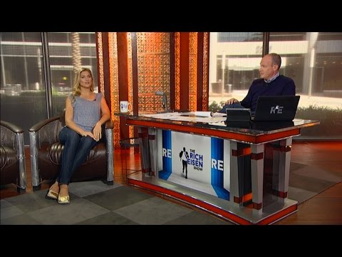 "Host of ""Strong"" on NBC Gabrielle Reece Joins The RE Show in Studio - 4/19/16"