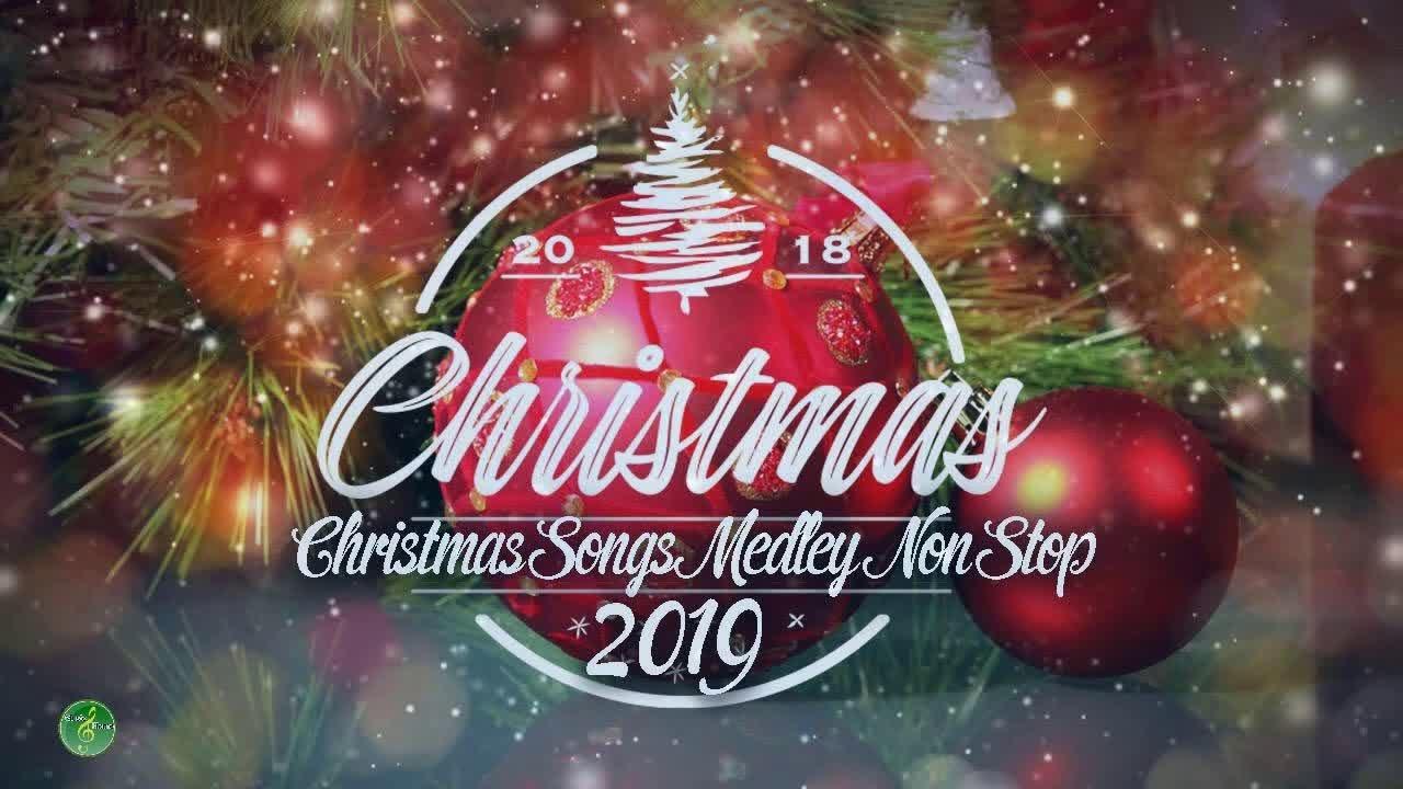 Non Stop Christmas Songs Medley Volume 1 & 2 - YouTube