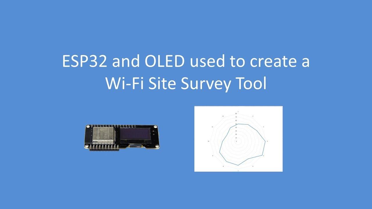 Tech Note 053 - ESP32/ESP8266 WIFI Survey Tool