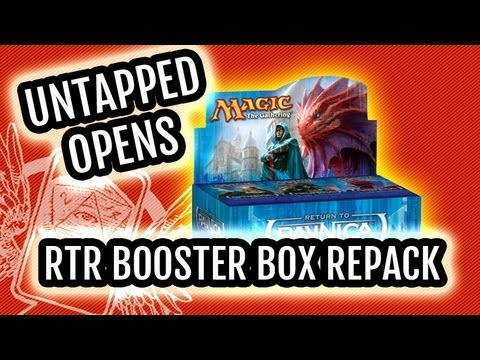 Return to Ravnica Booster Box Repack Opening!