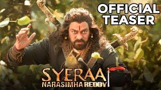 Sye Raa Narasimha Reddy Teaser Reaction   Chiranjeevi   Ram Charan   Nayanthara