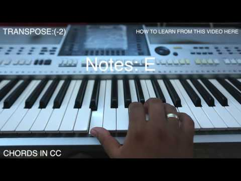 How to play velivoniranjo qurbana songs