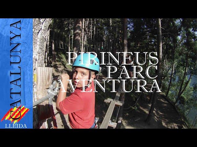 Bosque vertical en el Pirineus Parc Aventura | Pirineo Lleida
