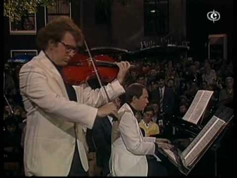 Brahms Viola Sonata Op 120-2 Paul Ostrovsky, Shlomo Mintz (Part-1)