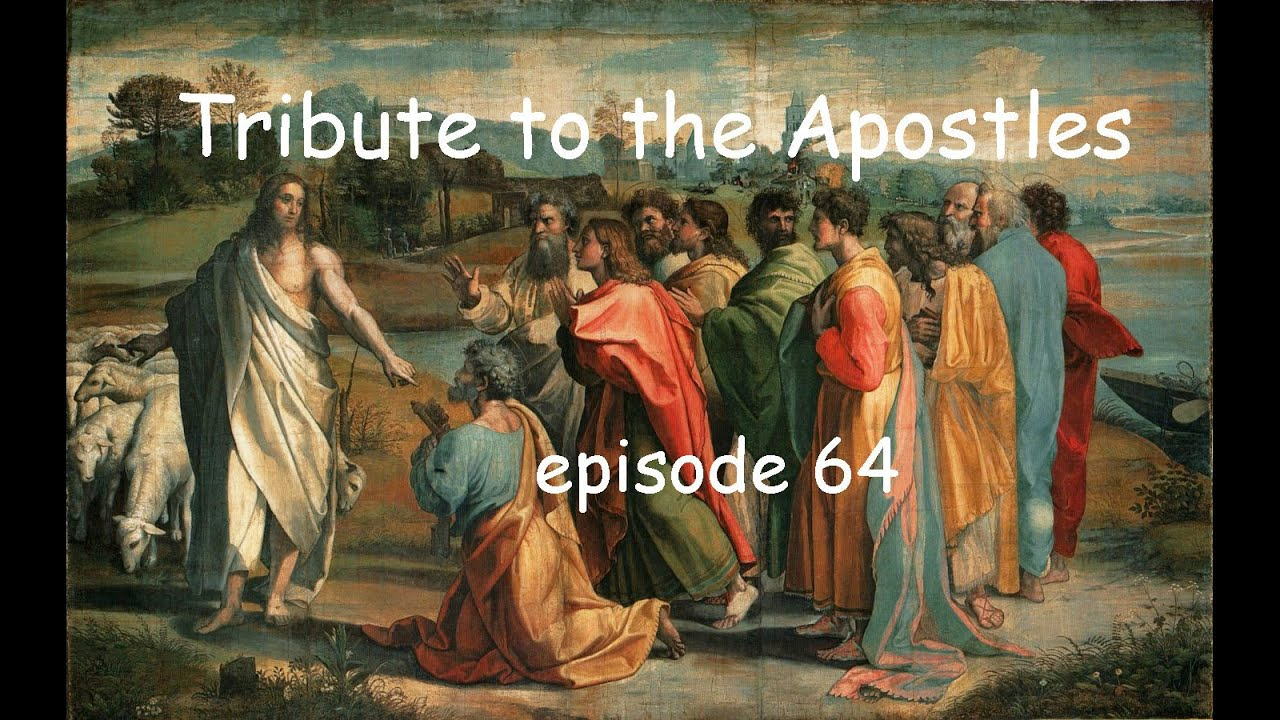 Tribute to the Apostles and more puzzling puzzles, as we near The End. Episode 64