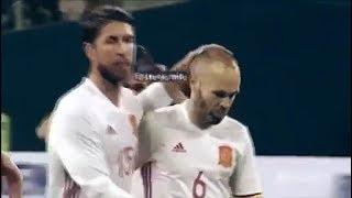 Quand Sergio Ramos demande à Iniesta s'il veut tirer le penalty