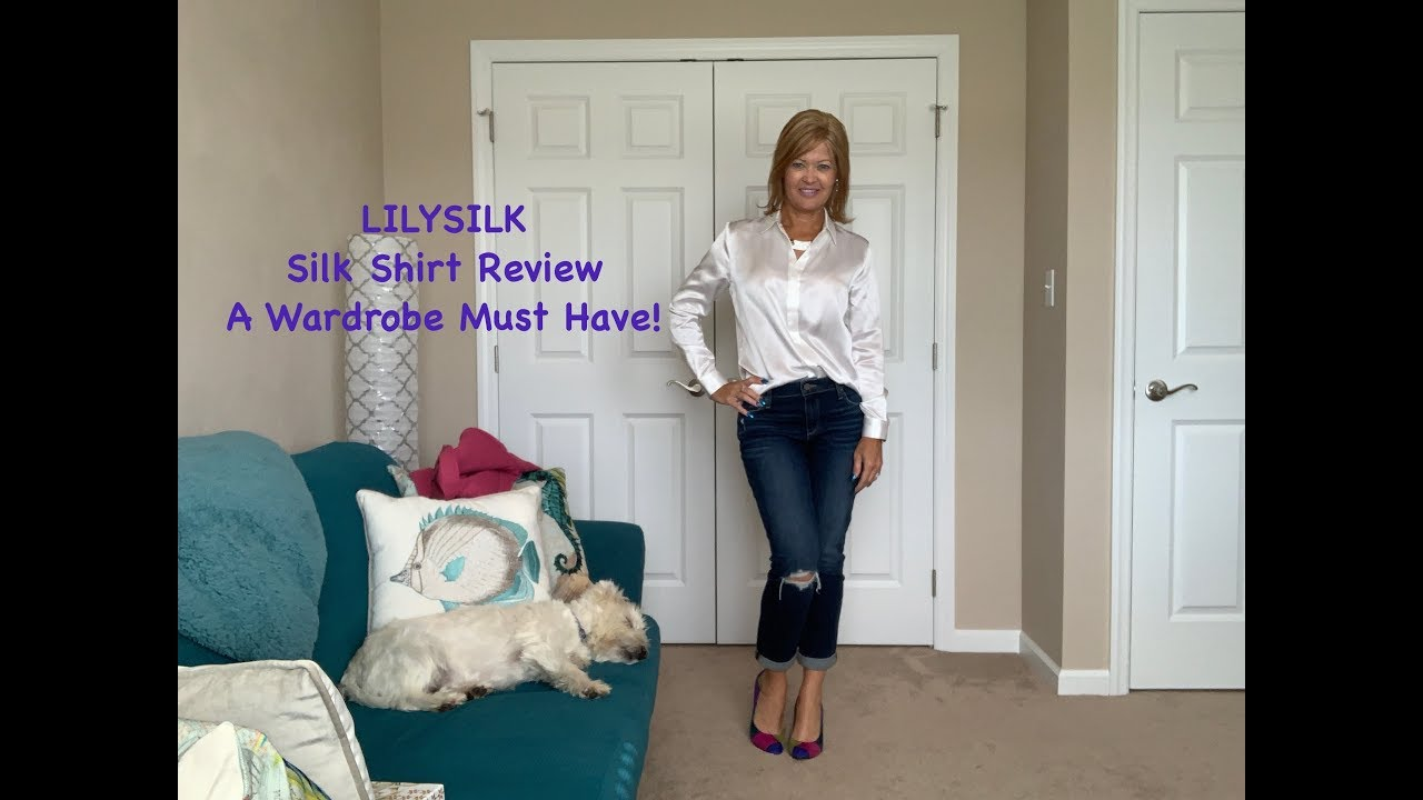 Lilysilk Shirt Review A Wardrobe Must Have Youtube