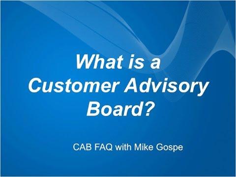 What is a Customer Advisory Board?