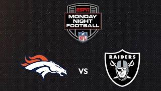 Broncos @ Raiders WEEK 1 SIMULATION (Have up to Round 4)