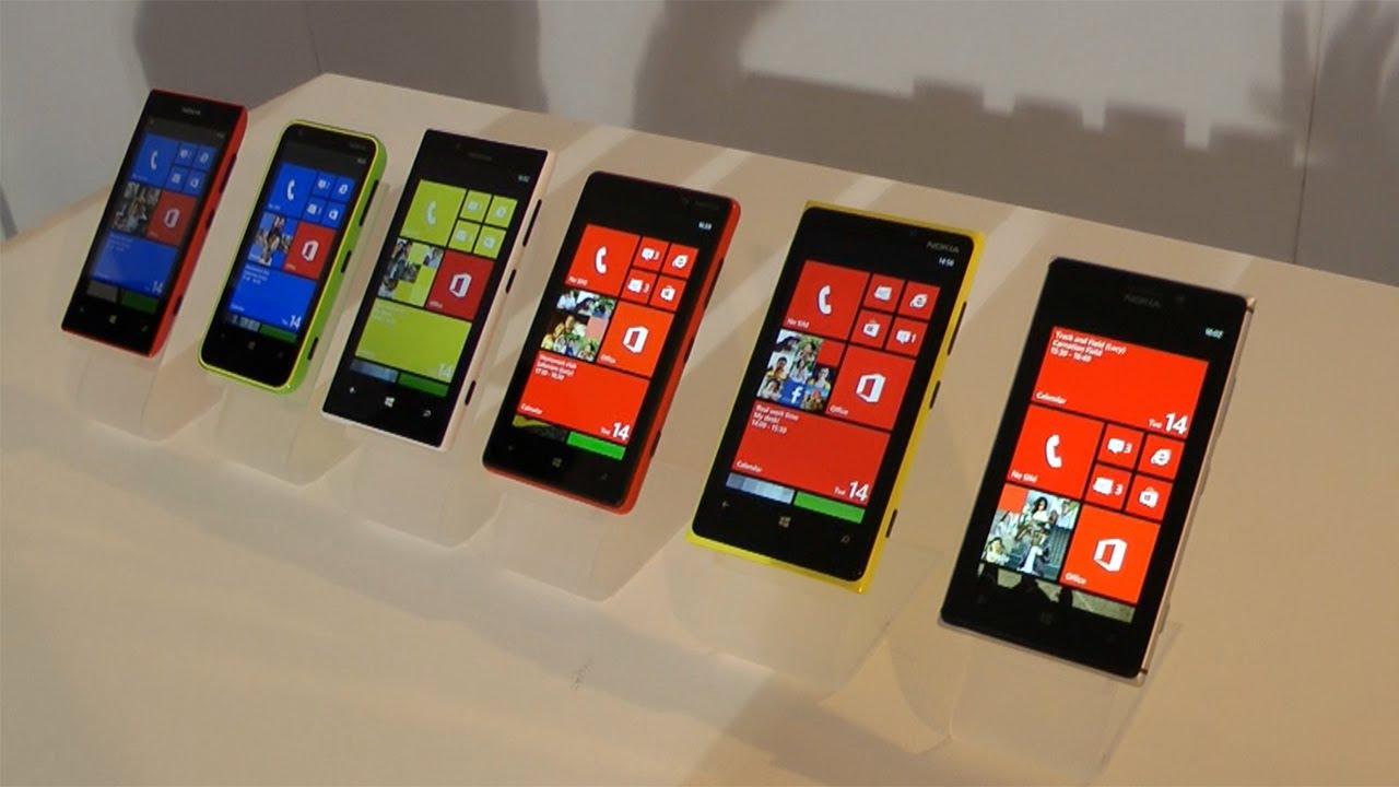 Nokia Lumia 720 Vs 920 The Lumia Family 925  920