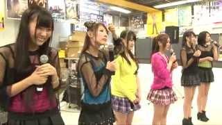 2013.11.4 秋葉原タワレコ ♪つくしんぼう しず風&絆~KIZUNA~ オフィ...