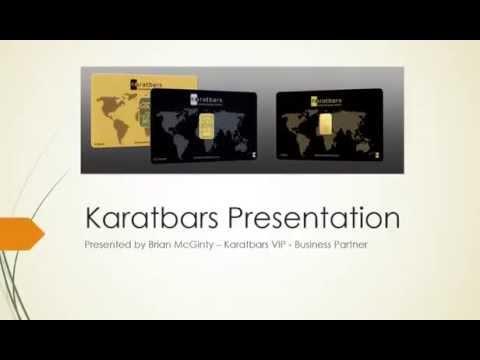 Karatbars International Presentation October 2015