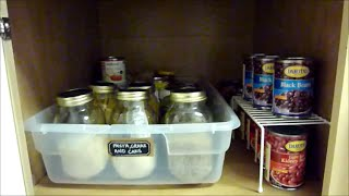 Pantry Organization {how To Organize Deep Cabinets}