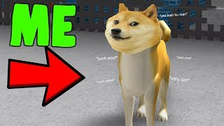 ROBLOX DOGE SIMULATOR *MUCH FUN SUCH WOW*