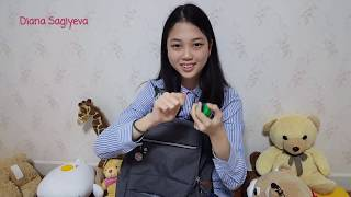 Что в сумке у СУ БИН? Что носят в рюкзаках корейские школьницы