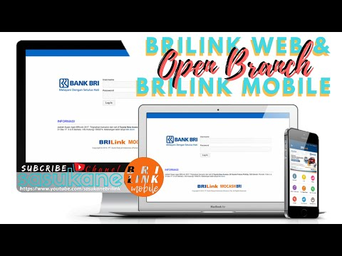 Cara Open Branch BRILink Web