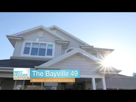 Metricon's Bayville 49 display home on Best Houses Australia