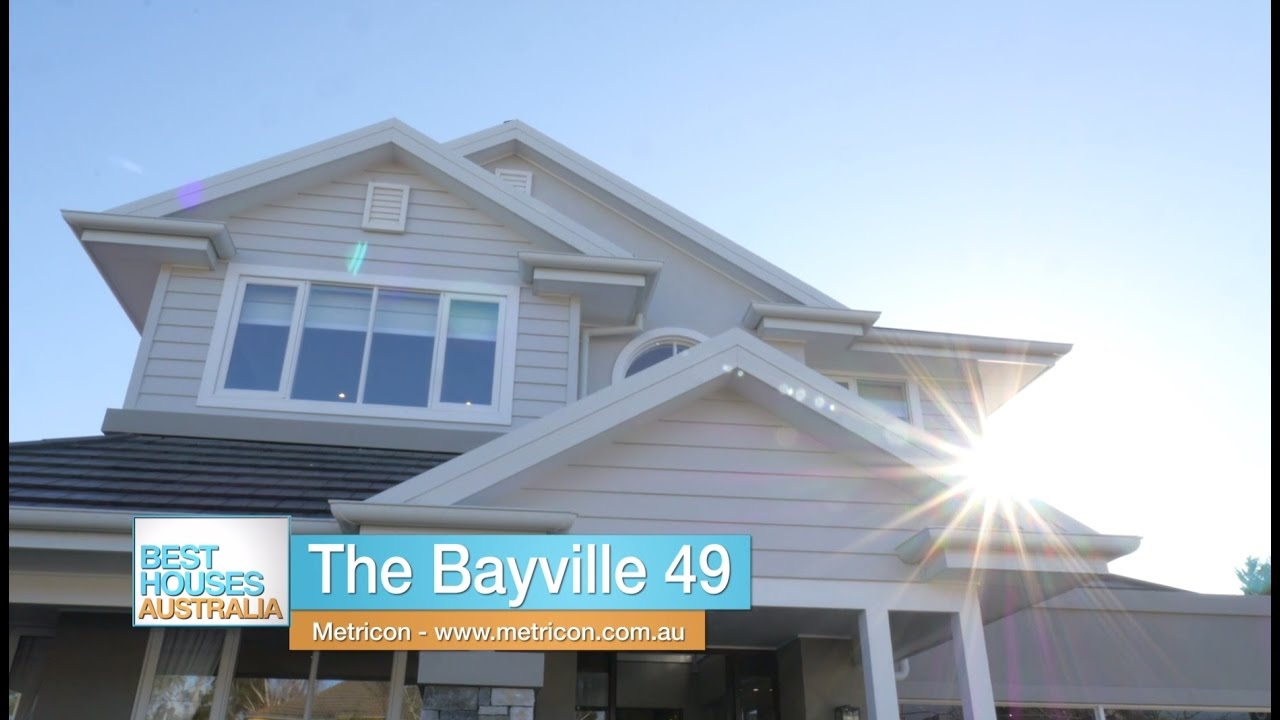 Metricon S Bayville 49 Display Home On Best Houses Australia