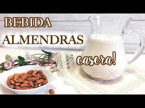 BEBIDA de ALMENDRAS paso a paso | Saludable♥
