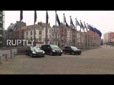 Belgium: Energy Minister Novak arrives for Russia-Ukraine-EU gas talks