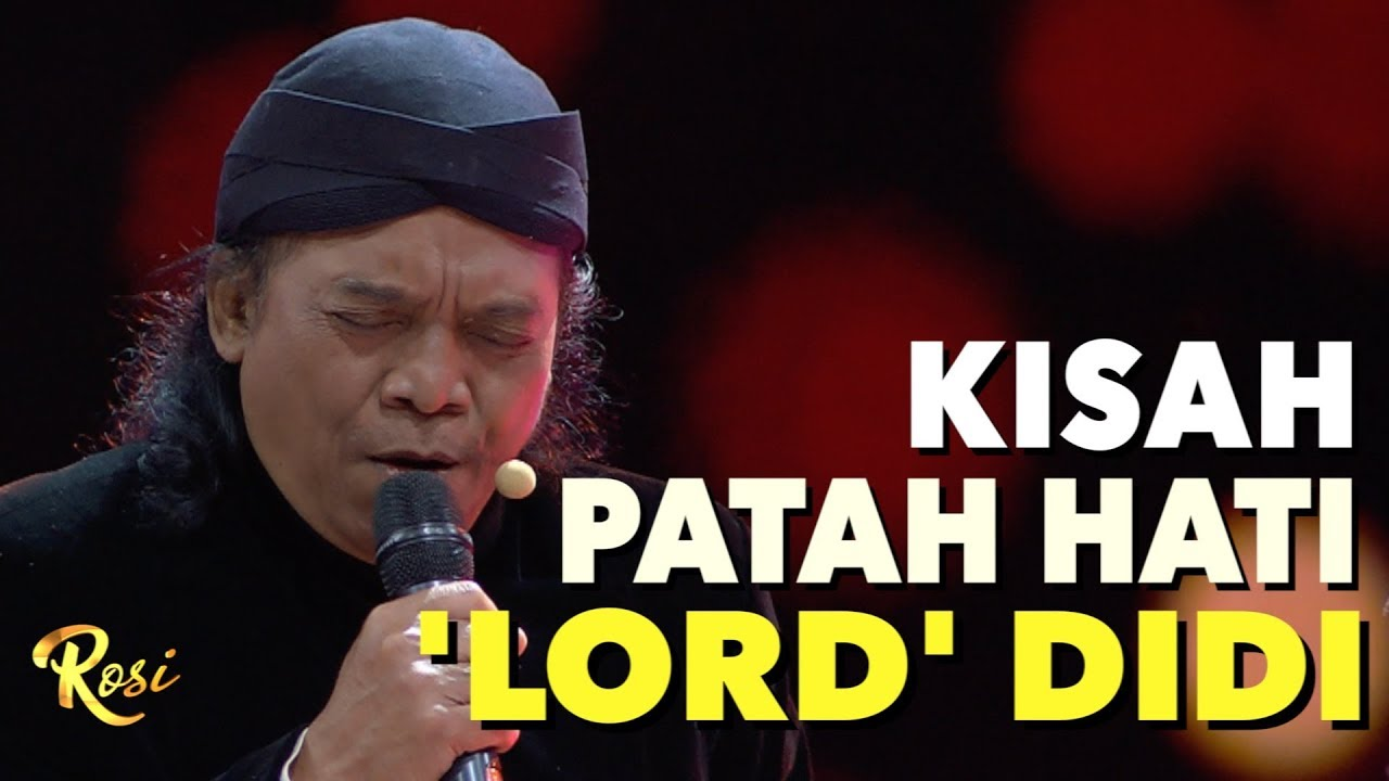 Kisah Patah Hati Didi Kempot Didi Kempot The Godfather Of Broken