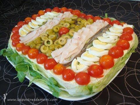 Video tarta vegetal recetas f ciles de los postres de mami youtube - Platos faciles de hacer ...