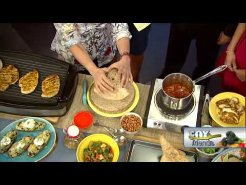 Chef Ingrid Hoffmann Cooks Guilt Free Latin Dishes