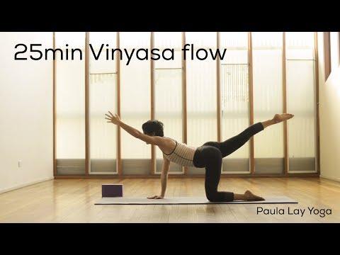 25 min Vinyasa flow