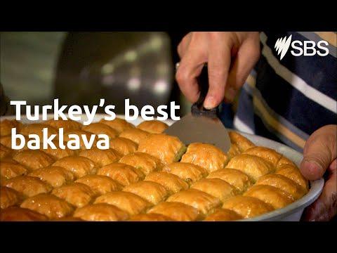 The best baklava in Turkey at İmam Çağdaş | SBS Food