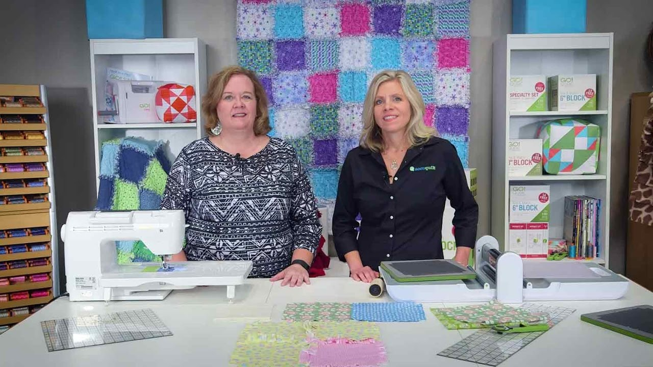 How to Make A Rag Quilt with the AccuQuilt Rag Die - YouTube : accuquilt rag quilt - Adamdwight.com