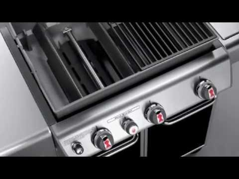 weber genesis e 330 gas grill youtube. Black Bedroom Furniture Sets. Home Design Ideas