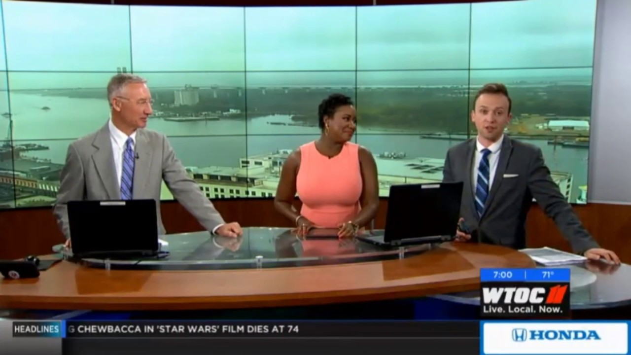 WTOC The News at Daybreak open (5-3-19)