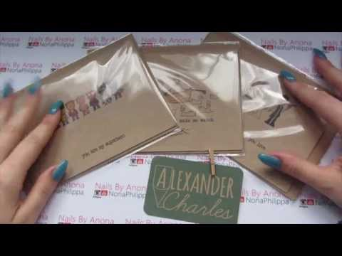 Alexander Charles UK Greeting Cards First Look/Review