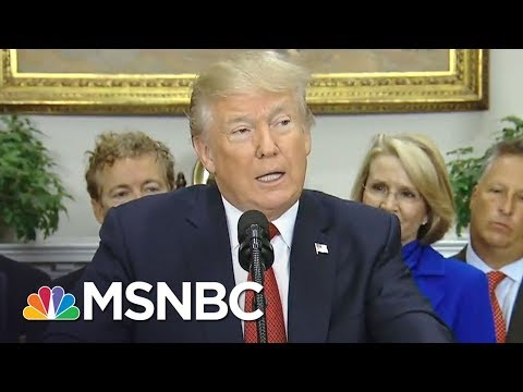 President Donald Trump To Cut Obamacare Subsidy Payments | The Last Word | MSNBC