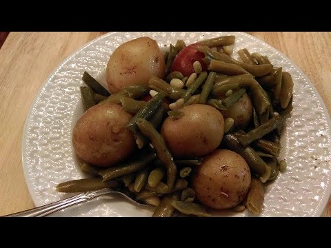 New Potatoes And Green Beans - The Hillbilly Kitchen
