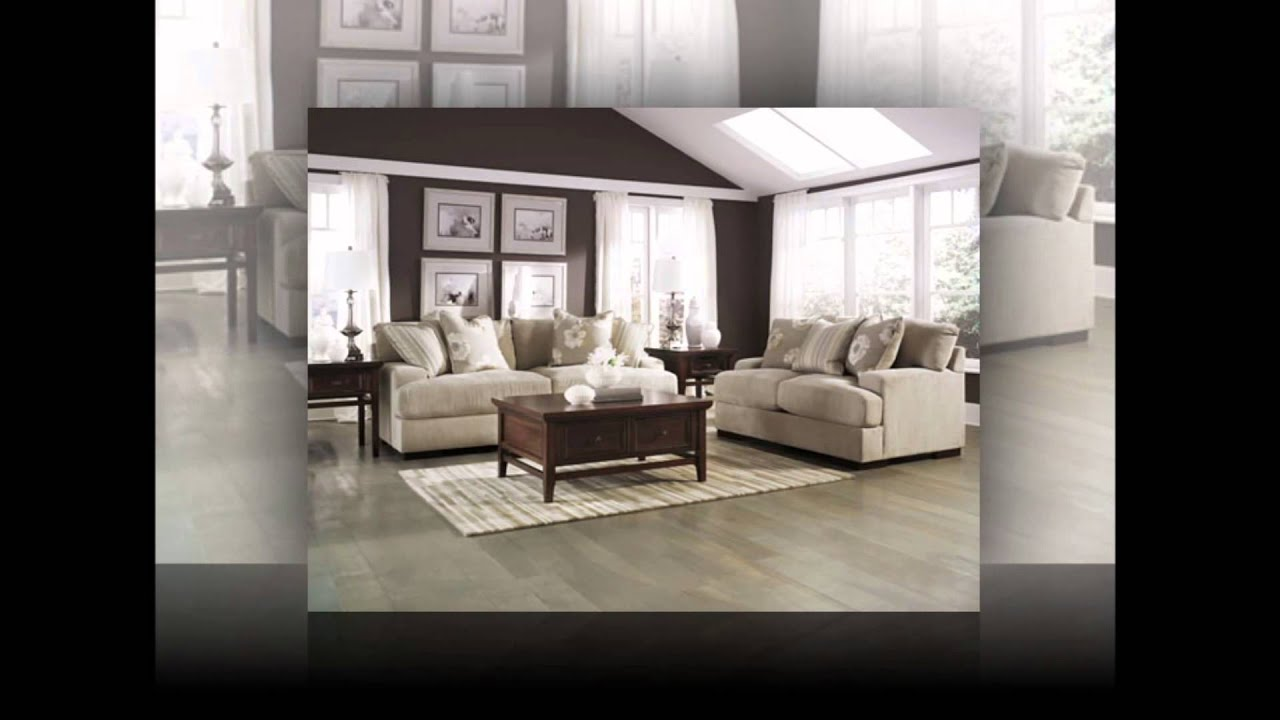 Pia Linen Living Room Set By Ashley Youtube