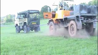 Unimog Tug of War - UK Mogstock 09