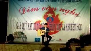 Lá Cờ -Guitar đêm văn nghệ tình nguyện tại Ba Điền Ba Tơ TP Quảng Ngãi