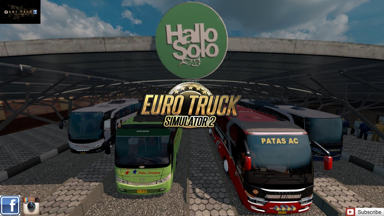 💄 Ets2 bus mod indonesia untuk android | Euro Truck