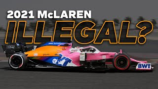 Is The 2021 McLaren F1 Car Illegal?